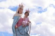 Santa María, Madre nuestra que en cada misterio del Santo Rosario nos brindas al Salvador. Acudimos a ti necesitados. Nos alegramos que desde…