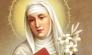 29/04/2016 - Cada 29 de abril celebramos a Santa Catalina de Siena,Virgen y Doctora de la Iglesia. Nació el25 de Marzo de1347 en Siena, Italia. Murió el 29 de abril de 1380.Hija…