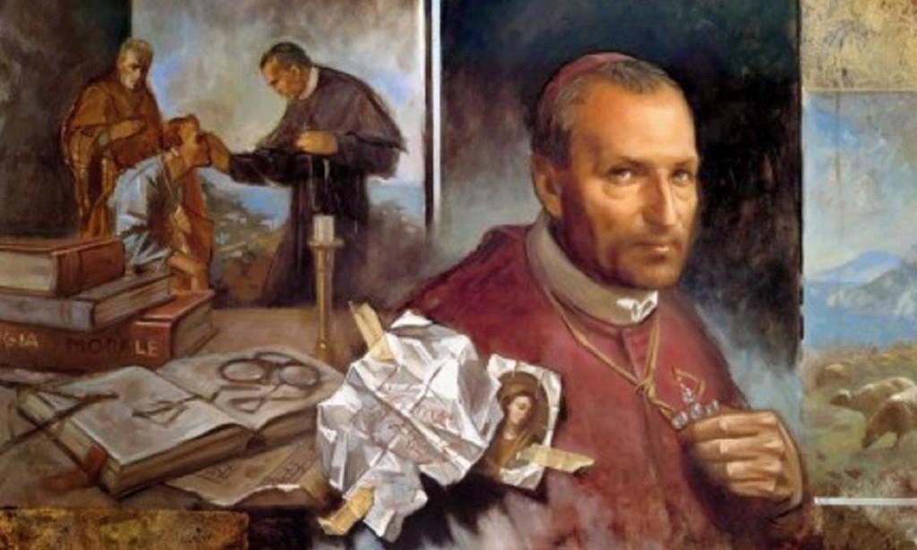 san alfonso María de Ligorio kjkjljljl