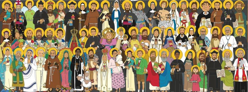Resultado de imagen para fiesta de todos lo santos