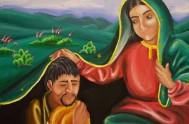 Virgen de Guadalupe estrella de la mañana, ojos negros, piel morena mi Virgencita Americana. Protectora de los pobres, crisol de todas las razas,…
