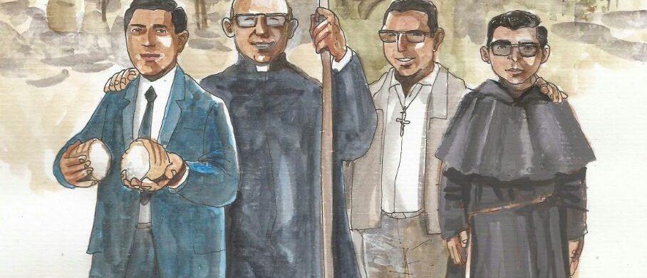 17/07/2019 - Por primera vez, hoy se celebra la memoria de los Beatos Enrique Angelelli y compañeros mártires. El 27 de Abril de este año, en la ciudad de La Rioja, fueron beatificados el obispo Angelelli, los padres Carlos de Dios Murias y Gabriel Longueville, y el laico Wanceslao Pedernera y se estipuló el 17 de Julio como el día…