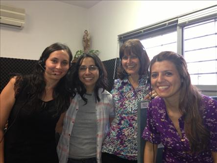 El compartir con los oyentes también se traduce en trabajo en equipo