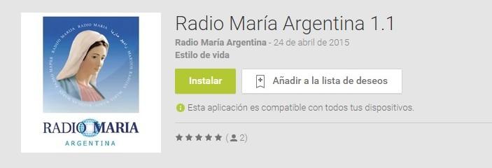 App Radio María