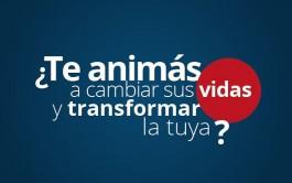 """09/04/2015 - """"Cambian sus vidas, transforman la nuestra"""" es la experiencia que viven quienes participan en la…"""