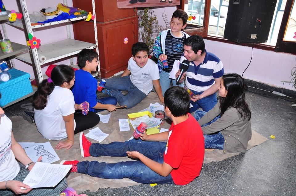 Juanjo y los niños del Chiquerito