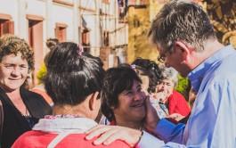 """1/10/2015 -Bajo el lema """"Vamos juntos con María a las periferias"""", desde el 5 al 9 de…"""