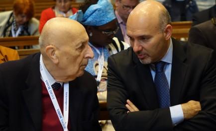 22/05/2017 - Vittorio Viccardi, presidente de la Familia Mundial de Radio María, quien se encuentra en Alemania, se subió a nuestro vuelo especial de Mariathon. El presidente aprovechó para renovar la invitación…