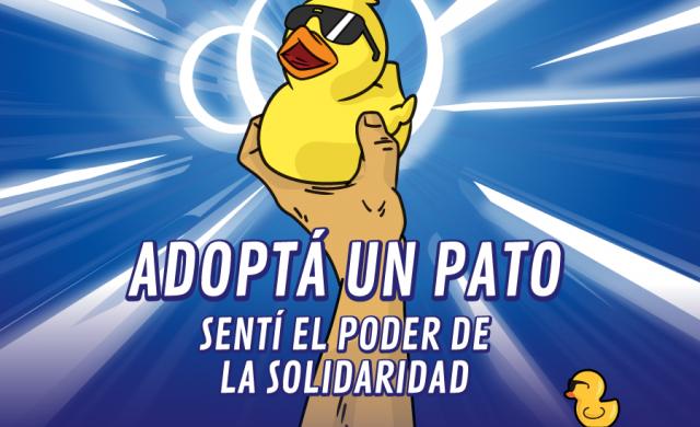 """Este añotu Super poder es la Solidaridad. El Pato Solidario quiere sumar a los corazones más solidarios para construir un mundo mejor, por eso presenta """"La Liga Solidaria"""" Podes sumar tu poder…"""