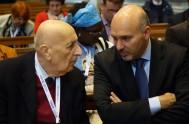 04/05/2018 –Vitorio Vicardi, presidente de la World Family que se encuentra viviendo ésta Mariathon 2018 en Alemania, concentrado en los proyectos de Radio…