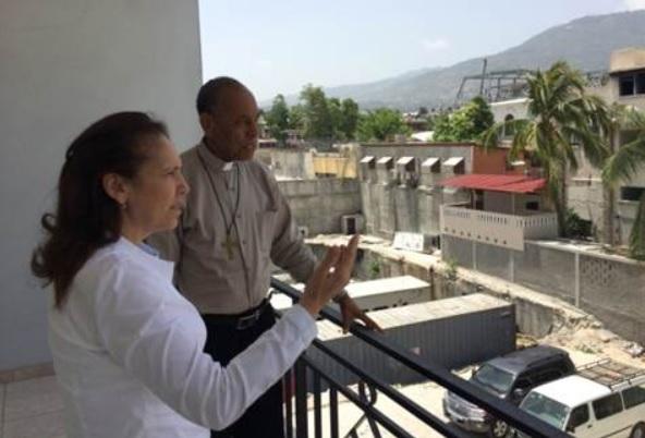 brizuela en Haiti