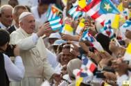 21/09/2015 – Nada más pisar el aeropuerto de La Habana, el papa Francisco recuperó aquella frase ya mítica pronunciada por Juan Pablo II…