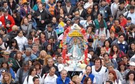 """30/09/2015 – El sábado 3 de octubre será la 41º Peregrinación a pie de Luján bajo el lema """"Madre de…"""