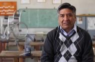 01/03/2016 –Los alumnos de la escuela de Educación Técnica Número 1 de La Quiaca, guiados por el profesor Pedro Cárdenes, fabrican bastones, sillas…