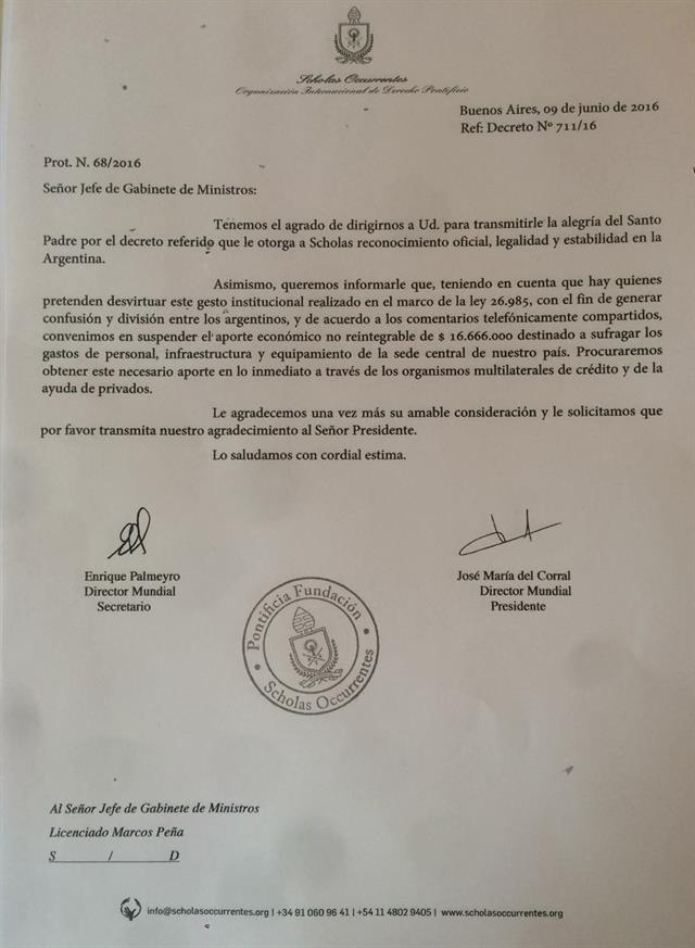 Carta Scholas