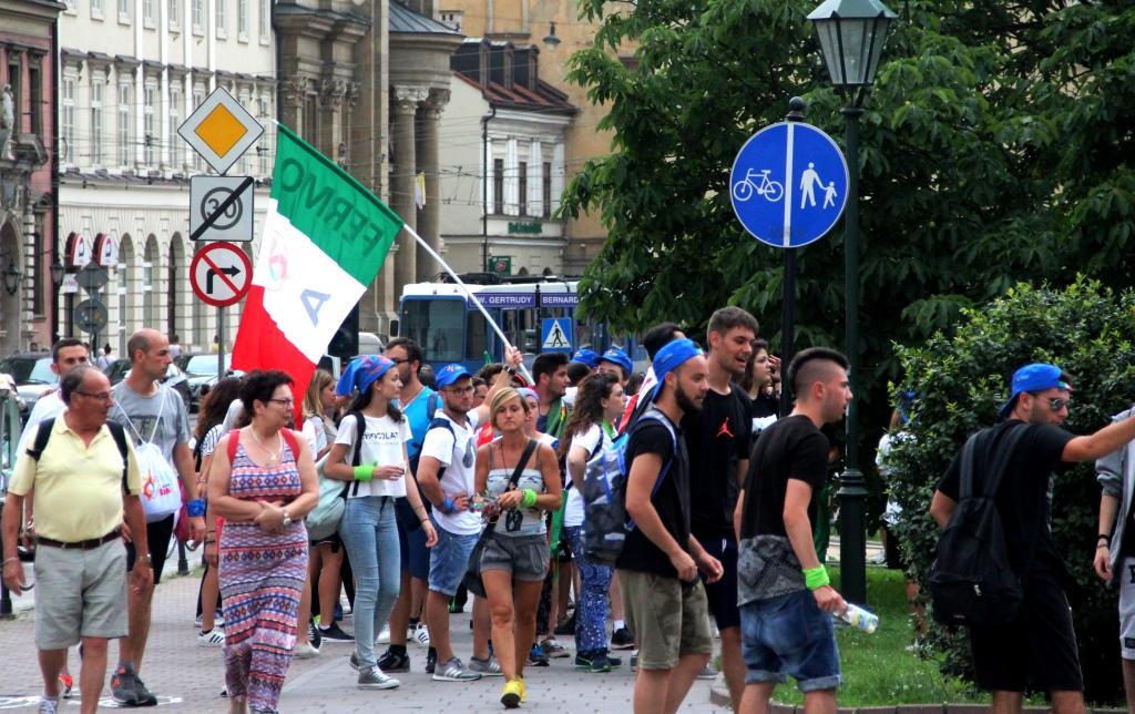 Italian pilgrims