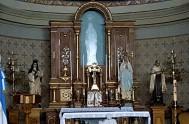 8/11/17 – El ocho de agosto, en estación María, caminamos junto a la Virgen de Lourdes, en Alta Gracia, Córdoba. Un sulky, dos…