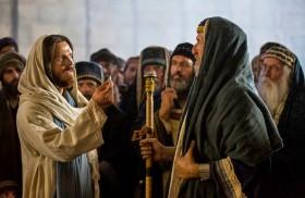 """23/02/2018 - Desde el Evangelio de hoy, Jesús va a dar un pasito más, va a decir no está mal la ley, pero... """"yo les digo"""". Muestra su contrapunto, llevando a la…"""