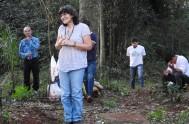 """14/04/2018 – La hermana María Josefa Ramírez, más conocida como la """"hermana Kiki"""", coordinadora del Equipo Nacional de Pastoral Aborigen, participó del espacio…"""