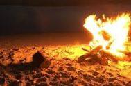 16/05/2018 – Con su poder y dinamismo, el fuego refleja los atributos divinos. Y por eso María Gloria Ladislao eligió a este elemento…