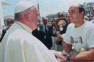 23/06/2018 – El sacerdote colonense Damián Vidano, párroco en la comunidad de Fátima, en el sur de la ciudad bonaerense de San Nicolás…