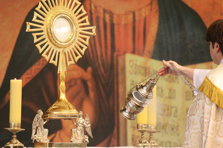 Eucaristia Grilla De Jesus Maria