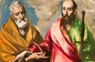 29/06/2018 – En el día de la fiesta de San Pedro y San Pablo, el Padre Ángel Rossi meditó sobre ellos tomando lo…