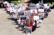 12/09/2018 – Delfina Apaolaza, Voluntaria de Cruz Roja, Vicepresidenta de la comisión directiva de la Filial Villa Crespo nos acompañó con su testimonio…
