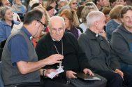 """19/10/2018 – Monseñor Jorge Vázquez, obispo de Morón, indicó que """"estamos viendo con los 40 sacerdotes de la diócesis qué es lo que…"""