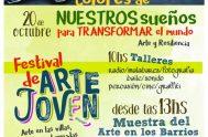 18/10/2018 – El festival de arte joven que se realizará este sábado en el colegio Leon XIII FESTIVAL DE ARTE JOVEN Arte en…