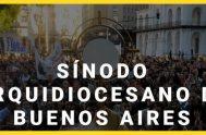 23/10/2018 – Francisco Berardo, organizador desde la pastoral de juventud del encuentro sinodal arquidiocesano