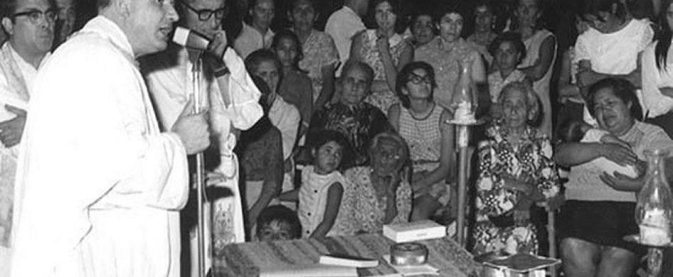 """03/12/2018 - """"Nuestros mártires hansabido participar dentro de ese contexto, han descubierto la misión propia de cada uno,y, así, han constituido los cuatro componentes eclesiales, el laico que encontró el espacio para vivir su vocación laical,el religioso-sacerdote, el sacerdote-misionero y, finalmente, el obispo. Y todos ellos dentro de un mismo plan pastoral y en un contexto socioeconómico y cultural determinado.Han…"""