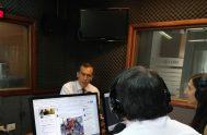 """21/11/2018 – En diálogo con Radio María Argentina, Hugo Alconada Mon, el periodista de La Nación, autor del libro """"La Raíz de todos…"""
