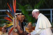 """06/12/2018 – En la conferencia sobre el tema """"La actualidad de Medellín y el papa Francisco"""", el sacerdote y teólogo jesuita Juan Carlos…"""