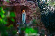 """13/02/2019 – """"Los santuarios que podemos reconocer como los más importantes en honor a Nuestra Señora de Lourdes en Argentina, Santos Lugares, Mar…"""