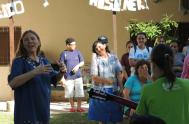 """09/03/2019 – María Cristina Martinez es virgen consagrada y colabora con la Fundación Manos Abiertas como responsable nacional del voluntariado. """"Mi vocación es…"""