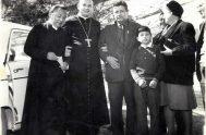 10/04/2019 –El padre Pablo Pastrone,párroco en Nuestra Señora de los Milagros de Villa Elisa en el Arzobispado de La Plata, y también el…
