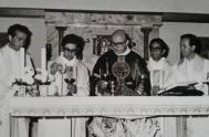 """10/04/2019 – """"El milagro más grande de nuestros mártires es la santidad comunitaria que nace del Concilio"""", expresó el padre Carlos Baigorrí, sacerdote…"""