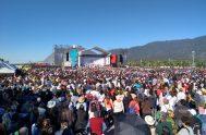 28/04/2019 – Al pie del cordón del Velazco, en el Parque de la ciudad, La Rioja, ayer fueron declarados beatos los mártires riojanos:…