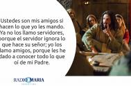 14/05/2019 -. Catequesis en un minuto Fiesta San Matías, apóstol Jesús dijo a sus discípulos: «Como el Padre me amó, también yo los…