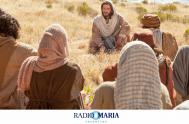 """15/05/2019 – Catequesis en Un minuto Miércoles de la IV semana de Pascua Jesús exclamó: """"El que cree en mí, en realidad no…"""
