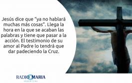 20/05/2019 -. Catequesis en un minuto Lunes de la V semana de Pascua Jesús dijo a sus discípulos: «El…