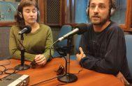 """15/05/2019 – Diego Brailovsky y Carolina Crevecoeur vinieron a presentar Circo Reciclado, una innovadora pero siempre necesaria forma de ver y cuidar/nos. """"Entendernos…"""