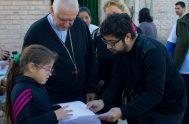 """06/06/2019 – Monseñor Jorge Lozano es el arzobispo de San Juan de Cuyo desde hace un par de años. """"La Iglesia existe para…"""
