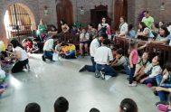 18/06/2019 – El grupo scout 330 de Buenos Aires funciona en la sede de la parroquia Soledad de María Santísima, en el barrio…