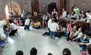 18/06/2019 – El grupo scout 330 de Buenos Aires funciona en la sede de la parroquia Soledad…