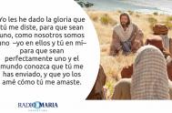 """Catequesis en un minuto 06/06/2019 – Jueves de la séptima semana de Pascua """"No ruego solamente por ellos, sino también por los que,…"""