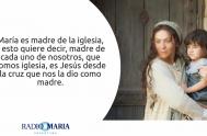 10/06/2019 – Celebramos la memoria de María, Madre de la Iglesia: ella, junto a los apóstoles recibe el don del Espíritu Santo y…