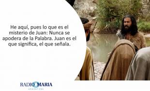 Catequesis en un minuto 24/06/2019 –Solemnidad de la Natividad de San Juan Bautista Cuando llegó el…