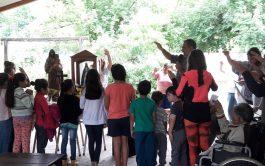 """12/06/2019 – En """"Madre del Pueblo"""" tuvimos la visita del padre Juani Liébana, un sacerdote de la diócesis de Añatuya,…"""